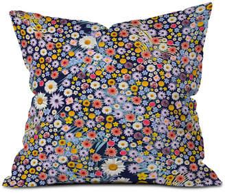 Deny Designs Iveta Abolina Flower Power Ii Throw Pillow