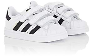 adidas Kids' Superstar Faux-Leather Sneakers-White