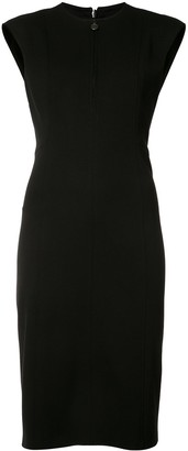 Akris Punto zipped neck dress