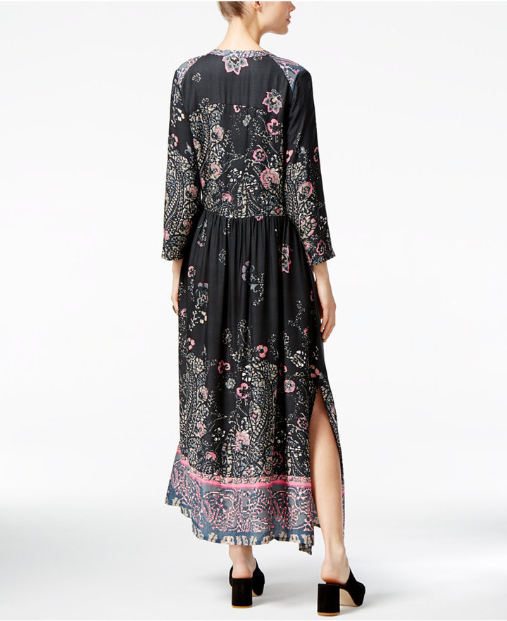 Free People If You Only Knew Printed Maxi Dress 2