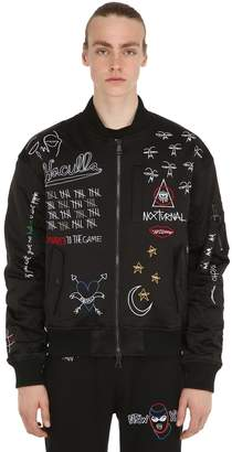 Haculla Nocturnal Embroidered Bomber Jacket