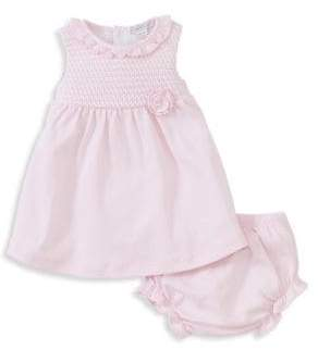 Kissy Kissy Baby's Breeze Two-Piece Cotton Dress and Bloomers Set