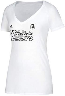 adidas Women's Minnesota United Fc Marked T-Shirt