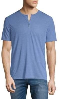 John Varvatos Short Sleeve Henley T-Shirt
