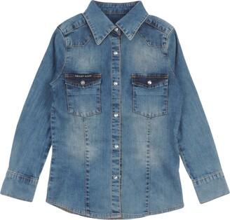 Philipp Plein Denim shirts - Item 42648370JR