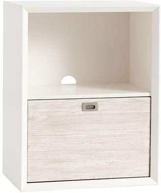 Pottery Barn Teen Callum Wall System 1-Drawer, Weathered White / Simply White