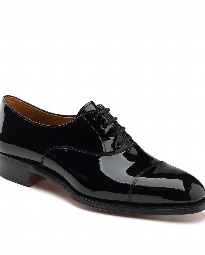 Patent Leather Captoe Oxford