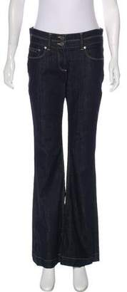 Burberry High-Rise Flared Jeans