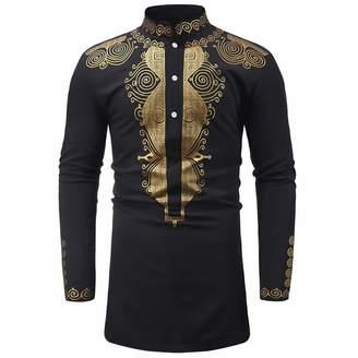 e3629402da60 Pervobs Mens Long Sleeve Shirts Shirts for Mens