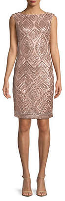 Vince Camuto Sleeveless Sequin Bodycon Dress