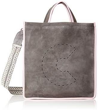 Coccinelle C Bag Suede E1 Cj1 18 01 01, Women's Shoulder Bag,12x36x34 cm (B x H T)