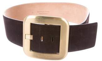 Michael Kors Suede Wide Belt