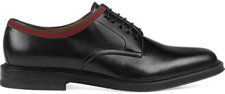 Gucci leather lace-ups