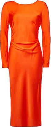 By Malene Birger Tondio Silk Midi Dress