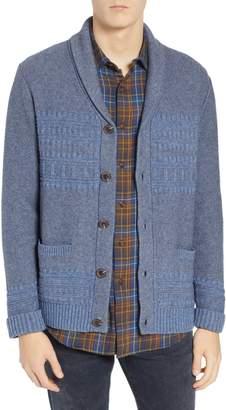 Pendleton Bison Shawl Collar Sweater