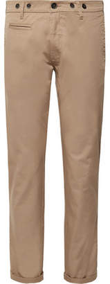 Barena Slim-Fit Stretch-Cotton Twill Trousers
