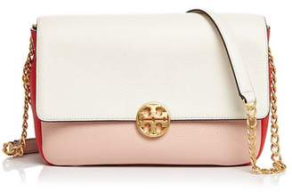 Tory Burch Chelsea Color-Block Convertible Shoulder Bag