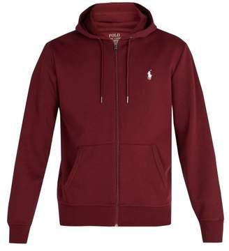 Polo Ralph Lauren Zip Through Hooded Performance Sweatshirt - Mens - Burgundy