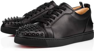Christian Louboutin Louis Junior Spikes Woman Flat