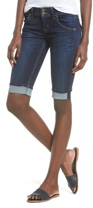 Women's Hudson Jeans Palerme Rolled Knee Shorts $165 thestylecure.com