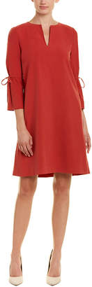 Lafayette 148 New York Deandra Silk Shift Dress