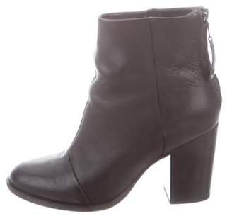 Rag & Bone Leather Round-Toe Boots