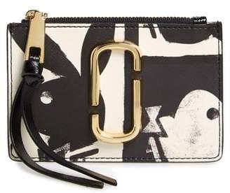 Marc Jacobs Snapshot Playboy(R) Leather Zip Wallet