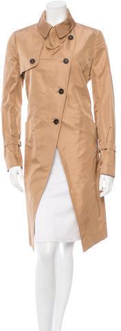 ValentinoValentino Asymmetrical Trench Coat