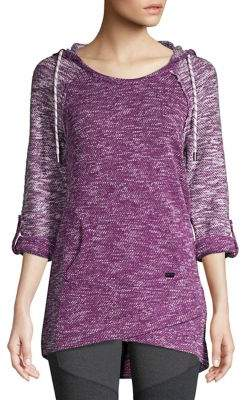 Andrew Marc Performance Mixed-Knit Tunic