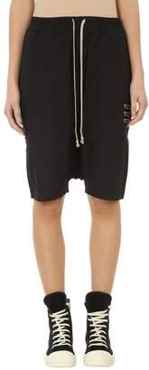 Drkshdw Black Cotton Pods Shorts