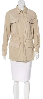 Vince Suede Short Coat