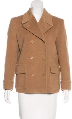 Calvin Klein Collection Short Camel Coat
