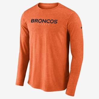 Nike Dri-FIT Player (NFL Broncos) Men's Long Sleeve Top