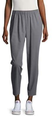 Lafayette 148 New York Crepe Track Pants
