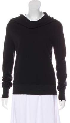 James Perse Long Sleeve Cowl Neck Sweatshirt
