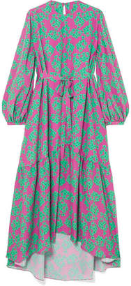Borgo De Nor - Bella Floral-print Crepe Maxi Dress - Pink