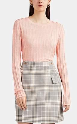 Acne Studios Women's Sitha Rib-Knit Sweater - Pink