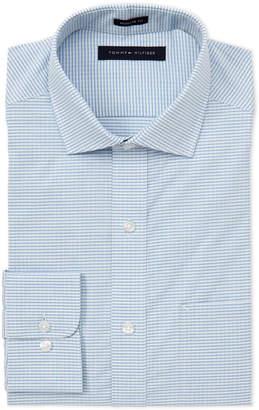 c8339a4c2 Tommy Hilfiger Green & Blue Check Regular Fit Dress Shirt