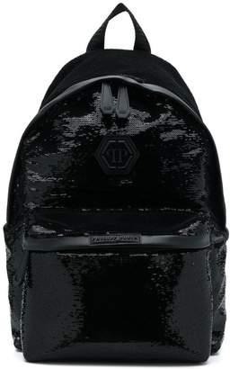 Philipp Plein sequin embellished backpack