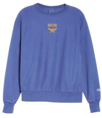 Champion x MCM Crewneck Sweatshirt