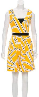 Diane von Furstenberg Sleeveless Pleated Dress