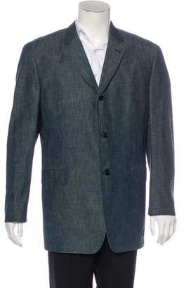 John Varvatos Chambray Coat