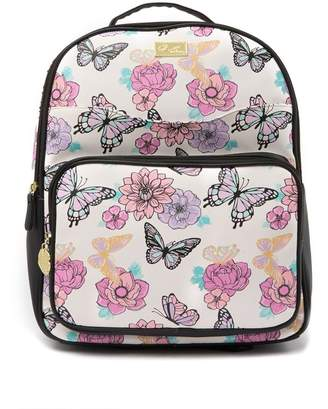 Betsey Johnson LUV BETSEY BY Austin Butterfly Floral Print Backpack