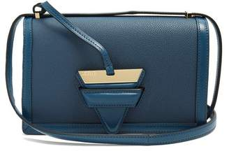 Loewe Barcelona Medium Leather Shoulder Bag - Womens - Indigo