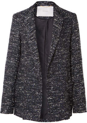 ADAM by Adam Lippes Tweed Blazer - Navy