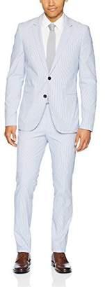 HUGO BOSS Hugo Hugo Men's Slim Fit Seersucker Suit-Arti/hesten
