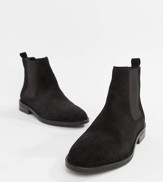8be1a8a70e5 Asos Design DESIGN Aura suede chelsea ankle boots