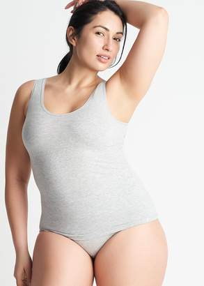 Yummie Cotton Seamless V-Neck Shaping Tank