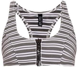 b30537fc8ad30 COM · Lisa Marie Fernandez Elisa Striped Performance Bra - Womens - Black  White
