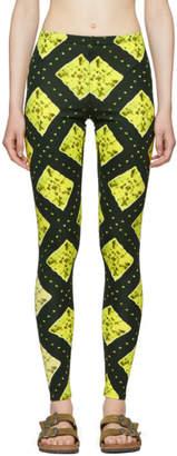 Marc Jacobs Green Redux Grunge Leggings